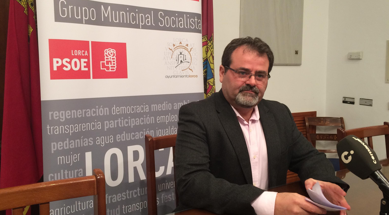 El PSOE denuncia la nueva subida del número de parados en Lorca por segundo mes consecutivo