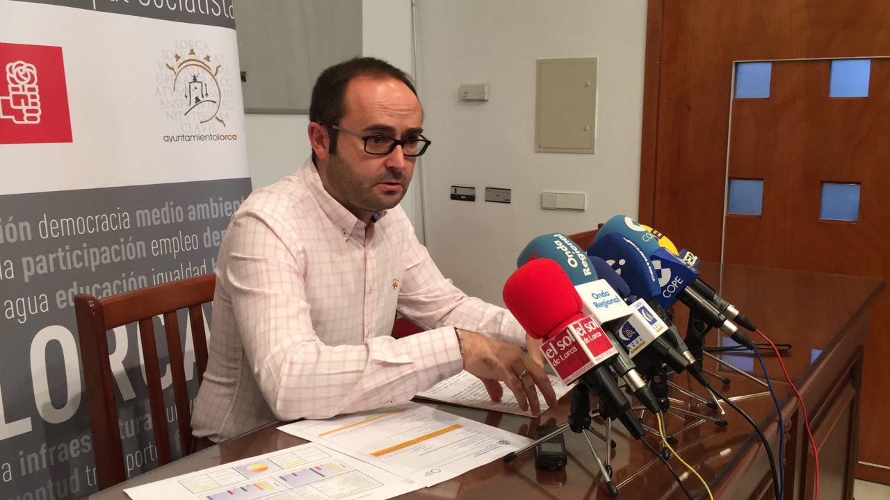 El PSOE denuncia el sobrecoste de más de un millón de euros en las obras del Auditorio de Lorca
