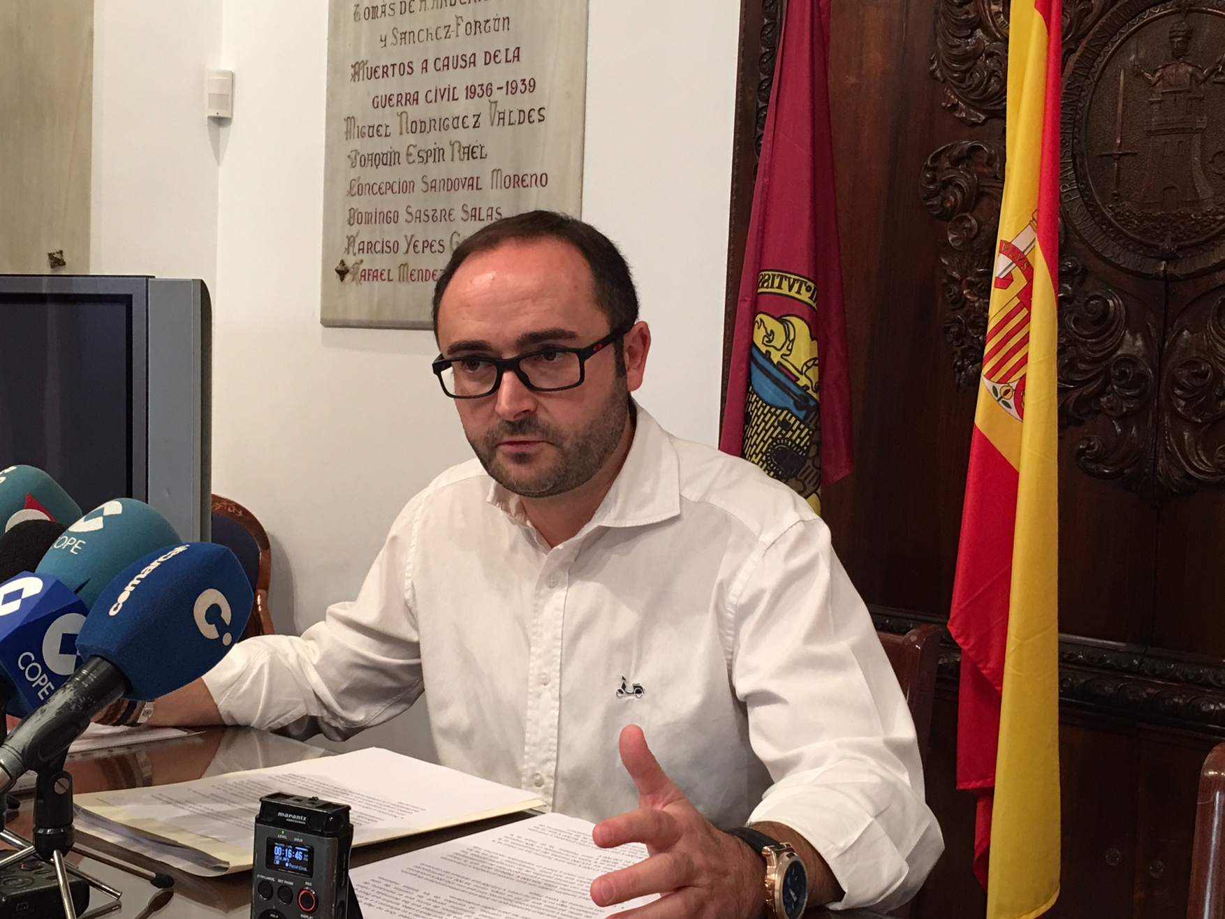 El PSOE pide al Ayuntamiento de Lorca que estudie una bajada del recibo de la contribución
