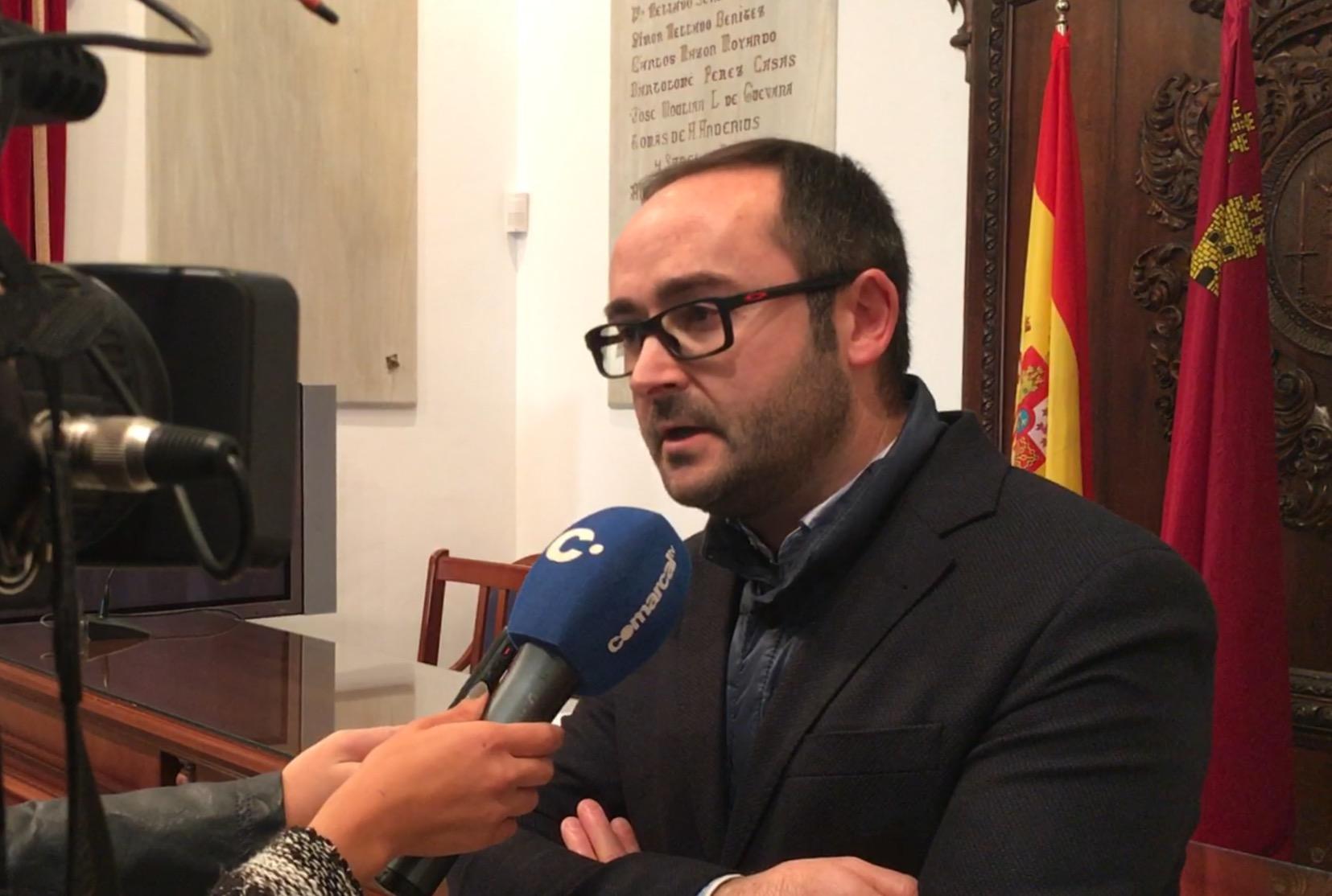 El PSOE solicita un plan de revitalización del sector comercial de Lorca con ayudas directas para proteger a los comercios afectados por las obras