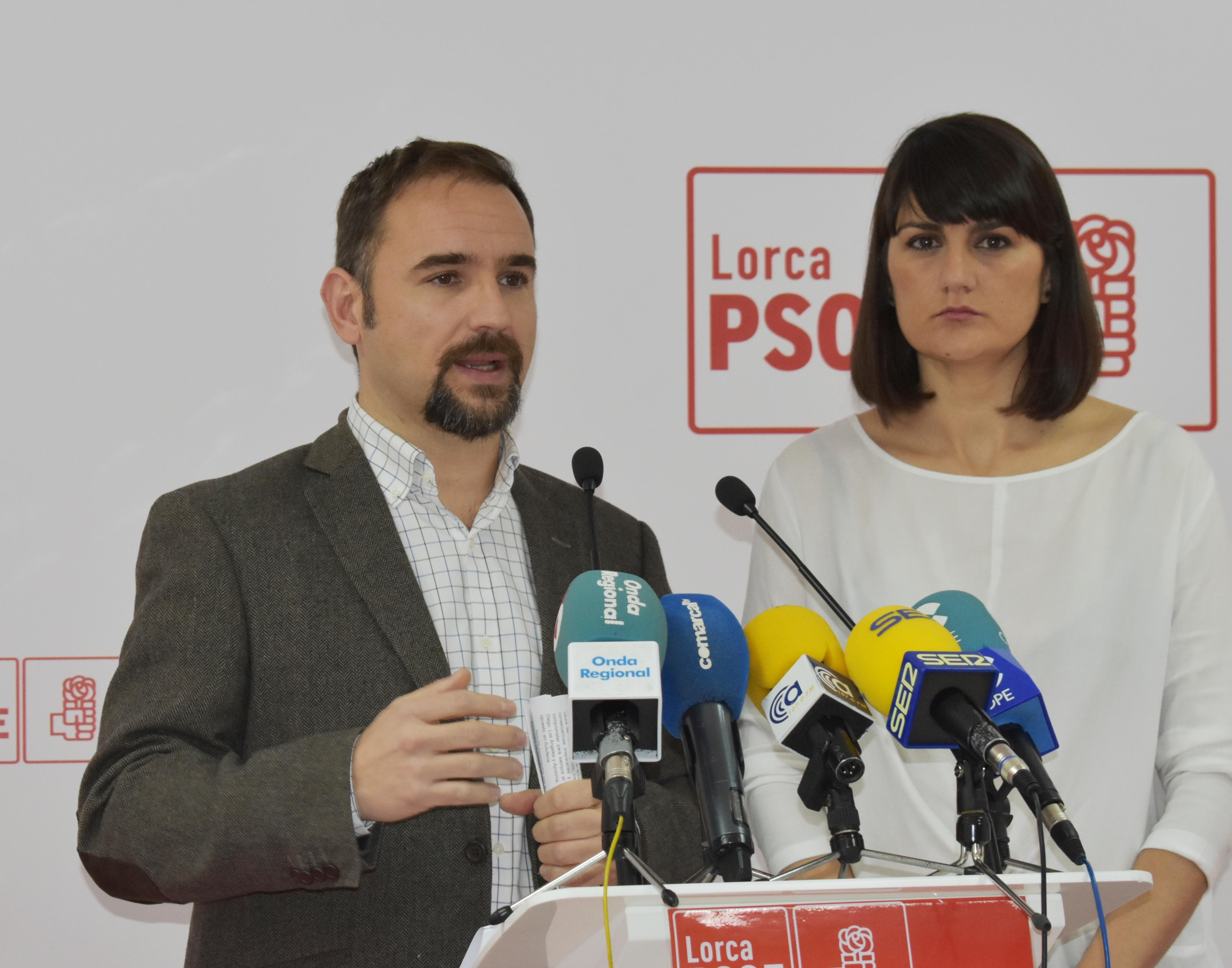 El PSOE exige al PP en el Congreso que concrete cuándo llegará el AVE a Lorca y aclare a los lorquinos si renuncian al soterramiento 4,3 kilómetros