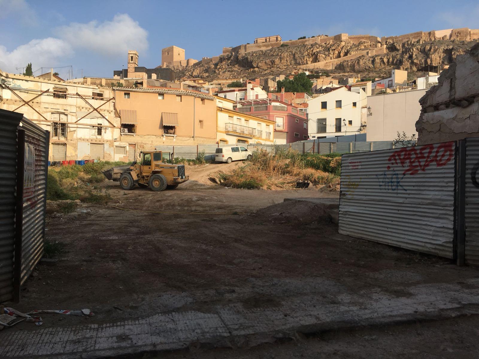 El PSOE garantiza como irrenunciable la construcción del Palacio de Justicia de Lorca en el solar en el que está previsto