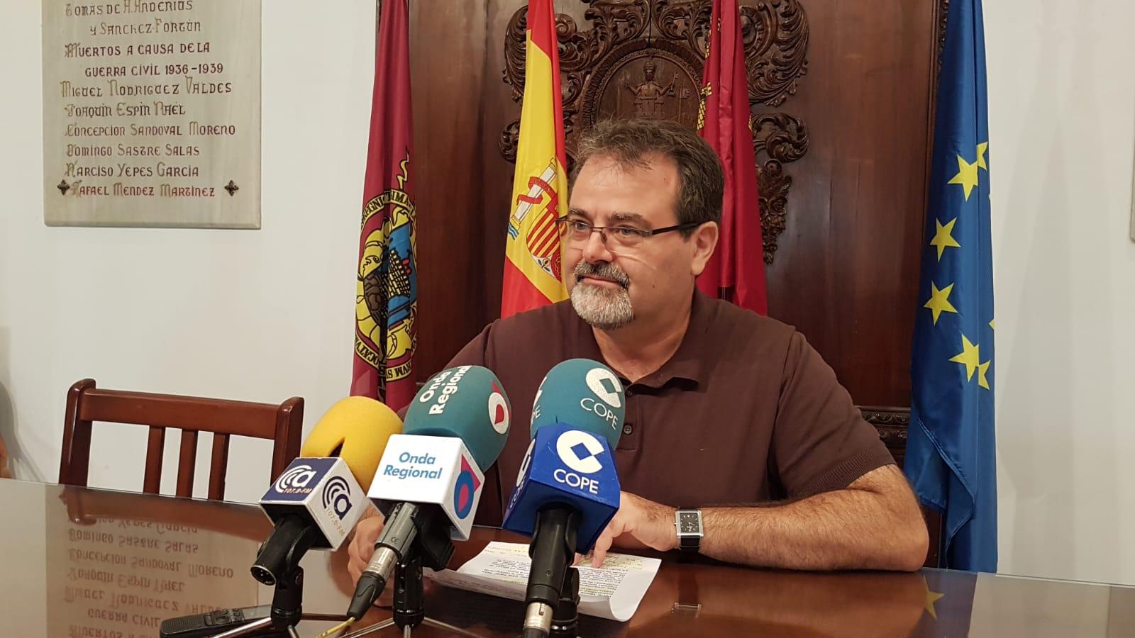 """PSOE: """"Las prisas del PP por inaugurar obras antes de las elecciones están llevando a Lorca a un caos de tráfico insoportable"""""""