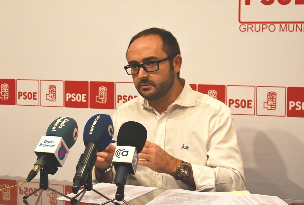 El PSOE presenta su proyecto de ordenanzas fiscales con tres grandes objetivos: aliviar la economía familiar, reactivar el comercio lorquino y revitalizar el Casco Histórico