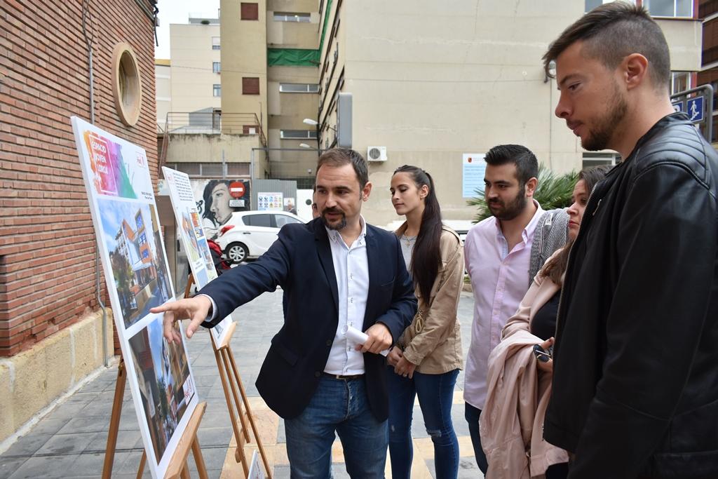 """Diego José Mateos: """"Es hora de que la juventud lorquina tenga su propio espacio pensado y diseñado para su ocio y tiempo libre"""""""