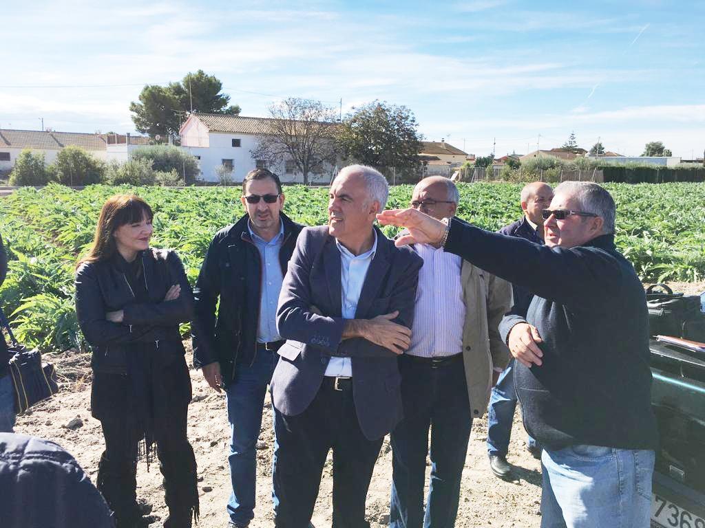 """PSOE: """"El Gobierno de España está trabajando para que el soterramiento del AVE a su paso por la ciudad de Lorca sea el máximo posible"""""""