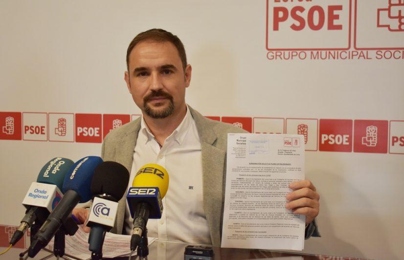 El Pleno extraordinario convocado por el PSOE para abordar la grave situación de la sanidad en Lorca será el lunes 19 de noviembre