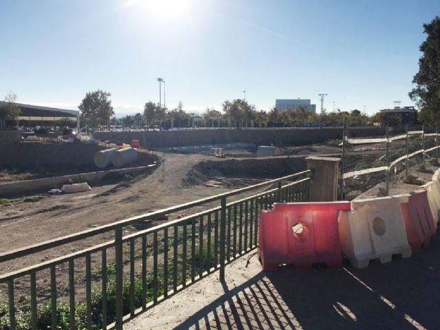 El PSOE denuncia la paralización de las obras del tramo II de la Ronda Central