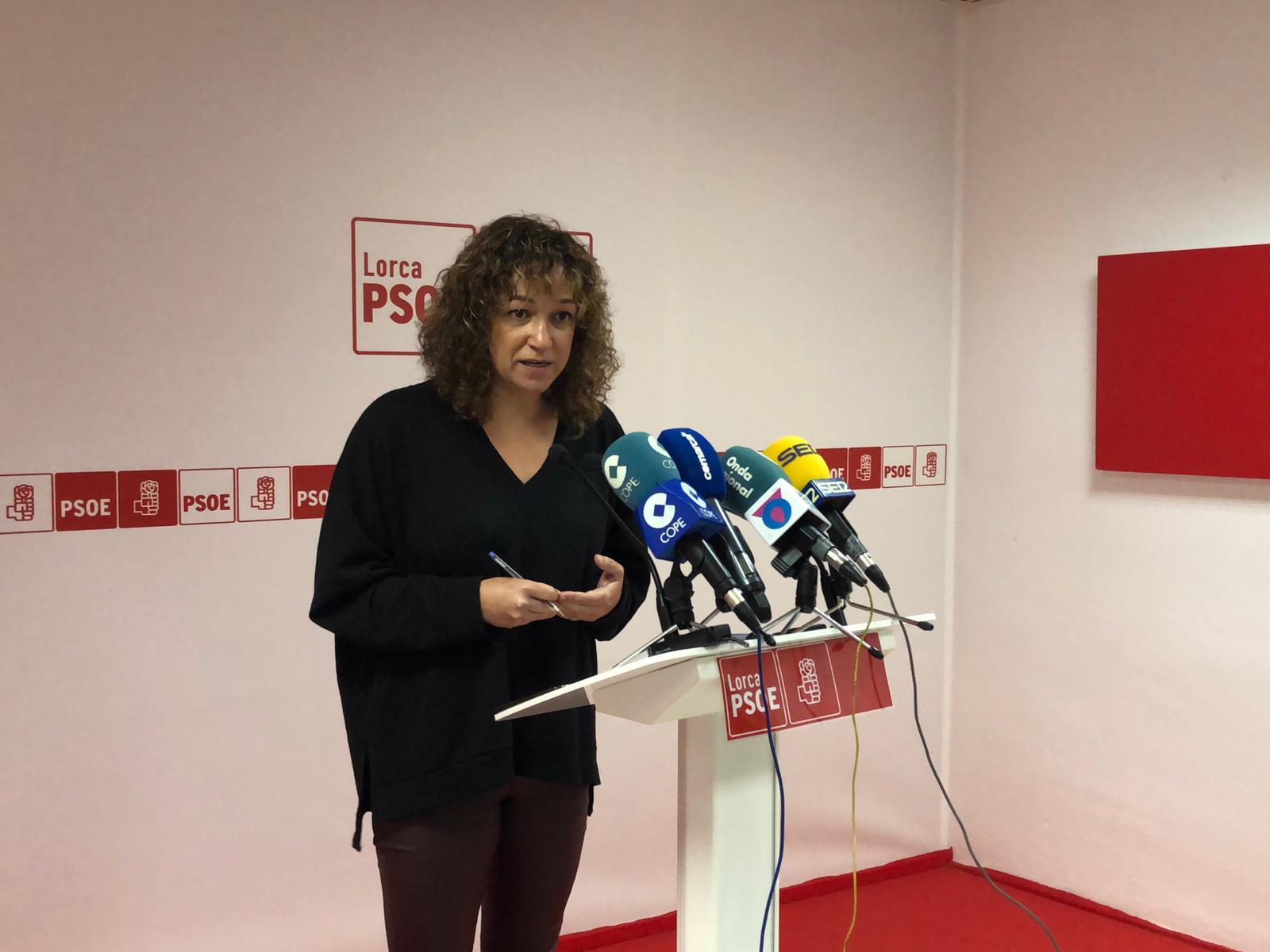 """El PSOE presenta más de 25 enmiendas a los presupuestos regionales para """"mejorar la vida de los lorquinos y lorquinas"""""""