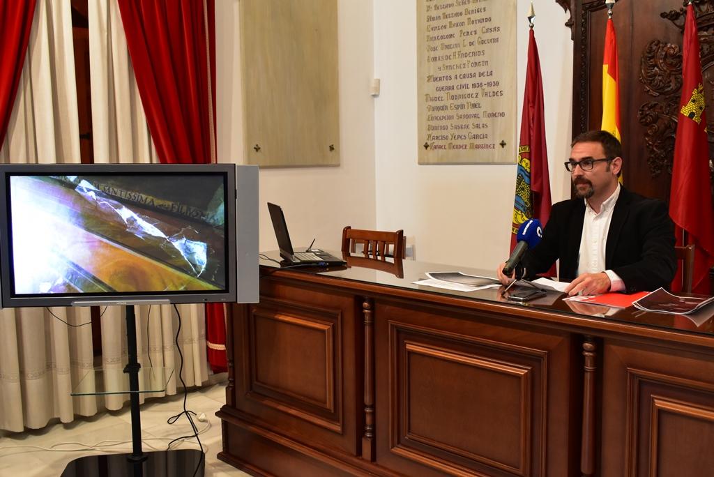 El Gobierno de España incorpora en los Presupuestos Generales del Estado inversiones para la restauración de las pinturas murales del santuario Virgen de las Huertas y la rehabilitación de la iglesia de San Juan