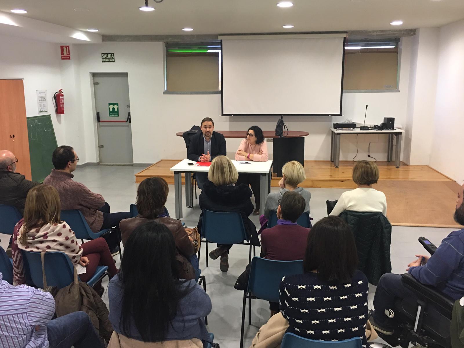 Diego José Mateos propone la ampliación de la casa municipal de las ONG´s para atender la amplia demanda de usuarios