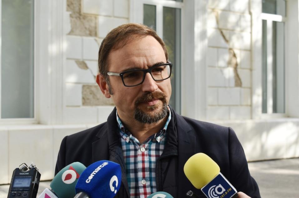 """Diego José Mateos: """"El desarrollo del Campus Universitario, por el que apostamos, será clave para que Lorca vuelva a brillar y recupere el peso que nos corresponde en el mapa regional"""""""
