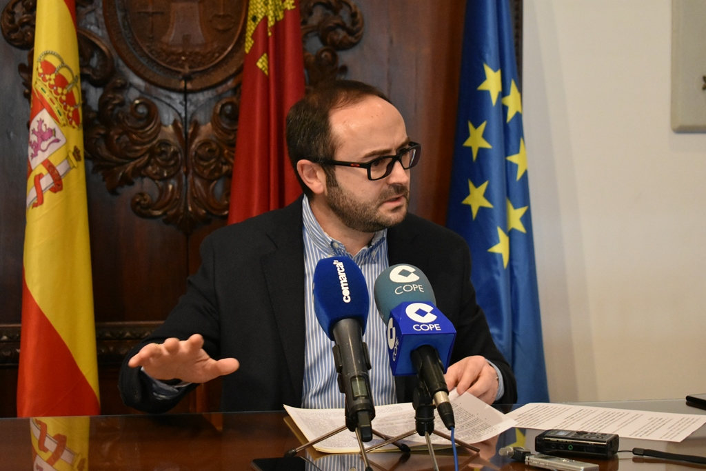 """PSOE: """"El futuro económico y social de Lorca pasa por convertir a nuestra ciudad en un referente para la celebración de Ferias y Congresos"""""""