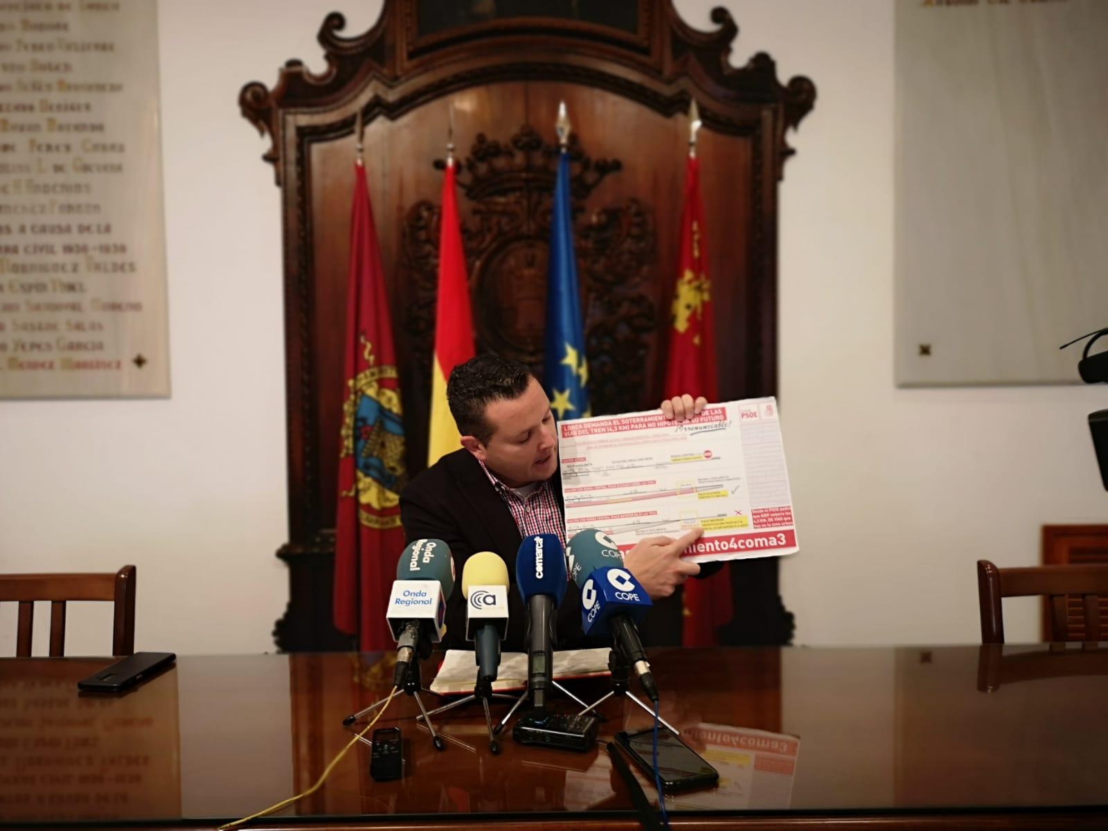 El PSOE rechaza el paso inferior aprobado por el PP que va a impedir el soterramiento del AVE a su paso por Apolonia, San Diego y Avenida de Europa