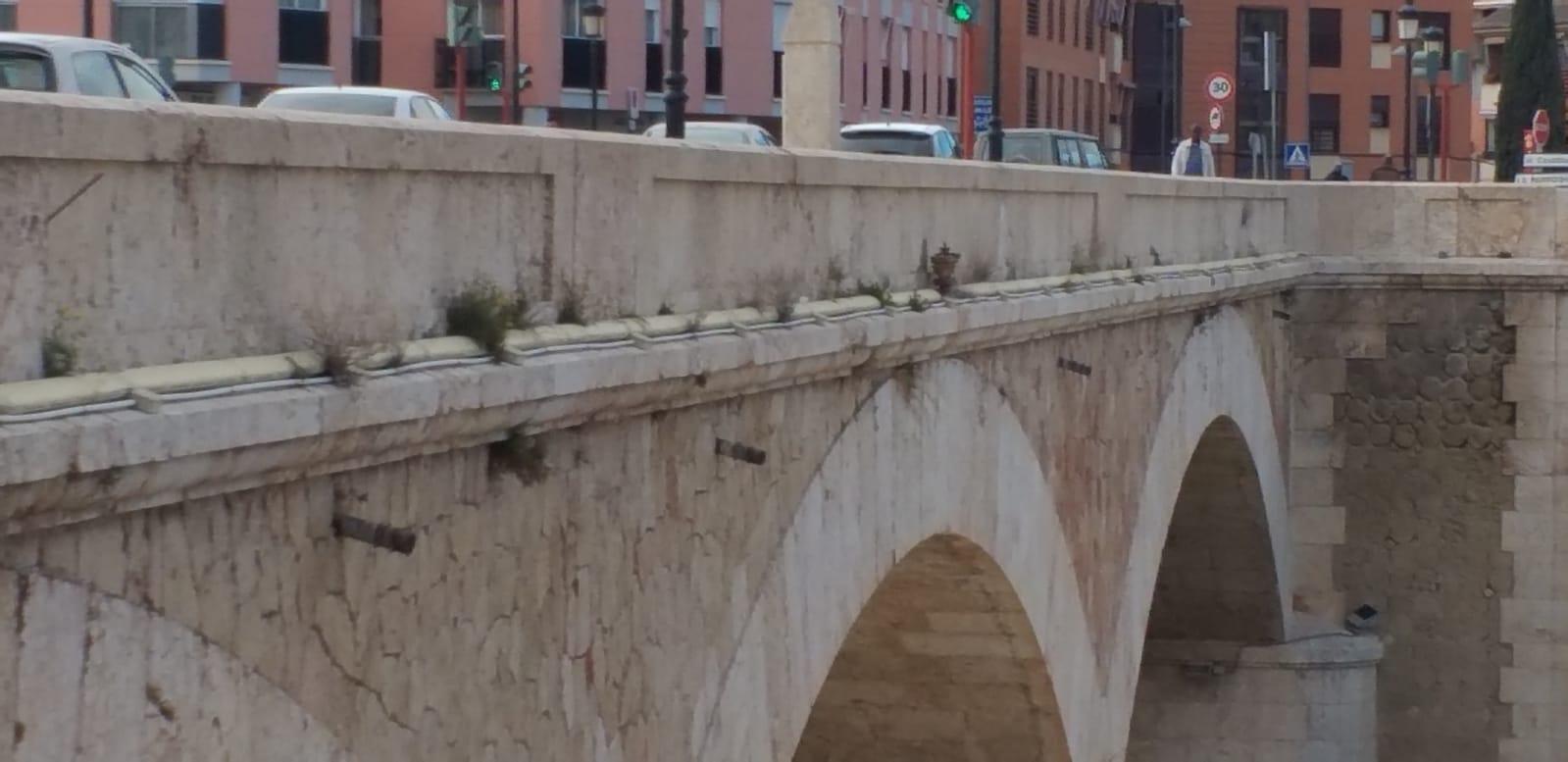 El PSOE reclama la limpieza, iluminación y puesta en valor del Puente del Barrio de cara a Semana Santa