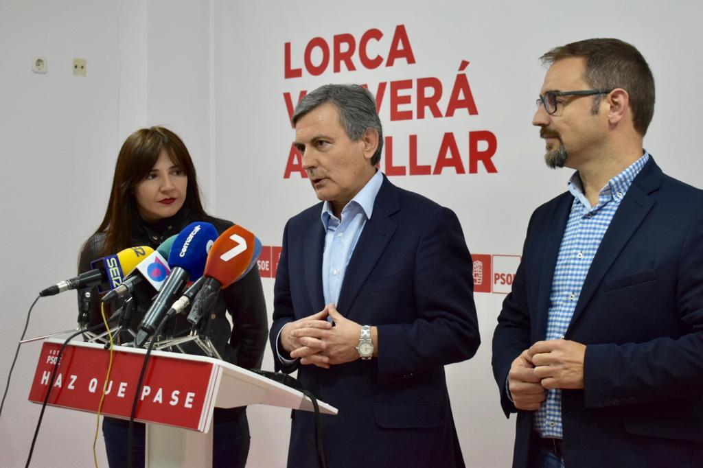 """Pedro Saura: """"El PSOE es el único partido que puede parar la involución del tripartito de derechas, liderado por VOX"""""""