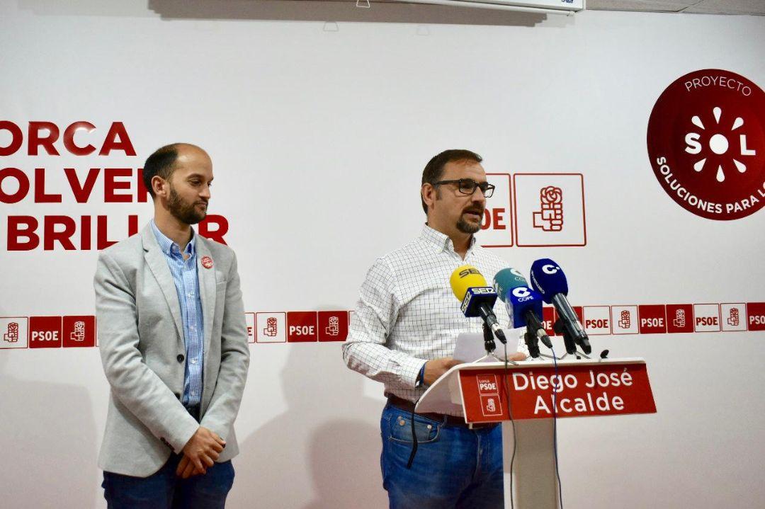 La recuperación del IMJUDE, un plan de mejora de infraestructuras deportivas en barrios y pedanías, y la implantación del TAFAD, entre las medidas del PSOE para que Lorca vuelva a ser referente deportivo