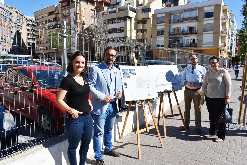 """Diego José Mateos presenta el plan """"Lorca Aparca"""" con el que el PSOE se marca como objetivo recuperar 2.000 plazas de aparcamiento en la ciudad"""