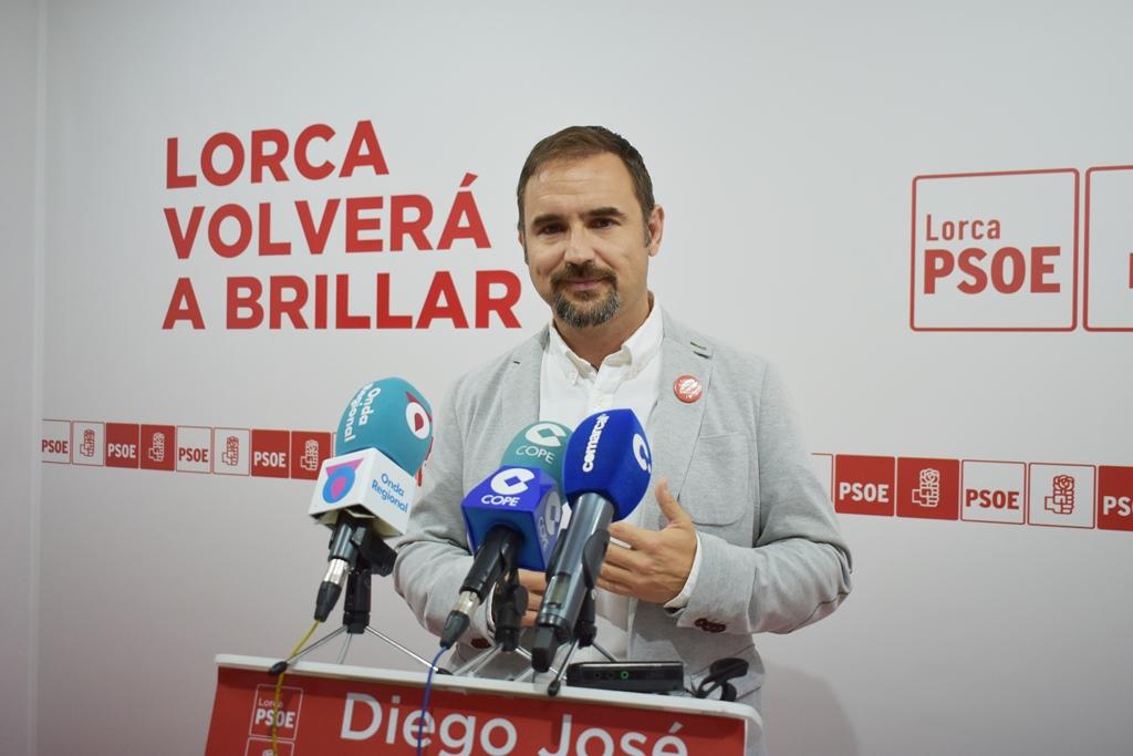 """Diego José Mateos: """"Apostando por la Universidad, por la revitalización estratégica del Casco Histórico y del comercio, y por la recuperación cultural y turística haremos que Lorca vuelva a brillar"""""""