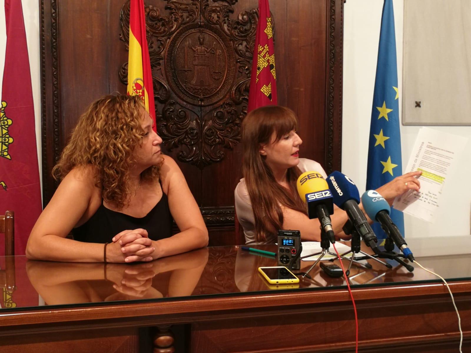 El PSOE exige al Gobierno Regional que cumpla con su compromiso de pagar el 50 por ciento de las ayudas a la reconstrucción y los alquileres de los afectados por los terremotos de Lorca