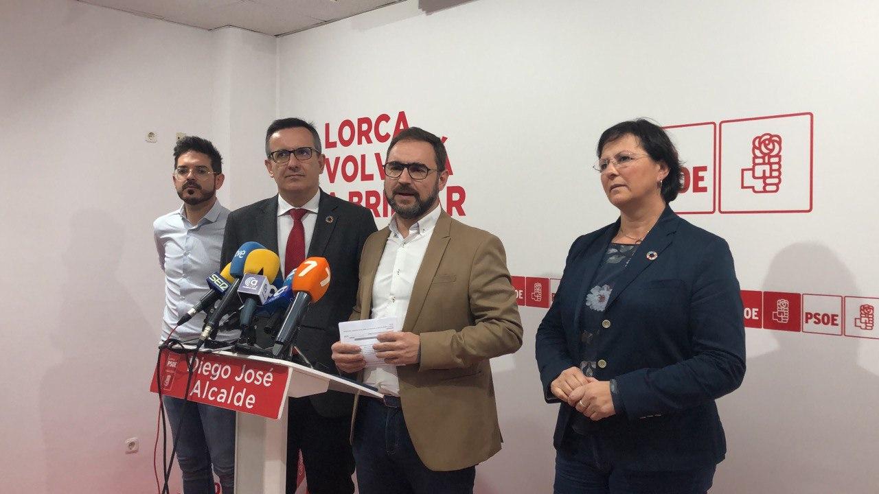 """Diego Conesa: """"La dinámica de mentira y confrontación del Gobierno regional no soluciona los problemas de la Región"""""""