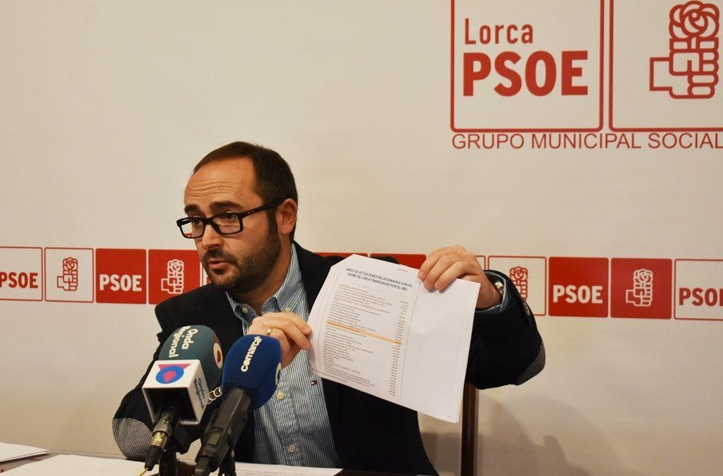"""Isidro Abellán: """"las declaraciones que emite el Partido Popular de Lorca deberían subirle los colores a más de uno y de dos, pero claro para sonrojarse primero habría que tener vergüenza"""""""