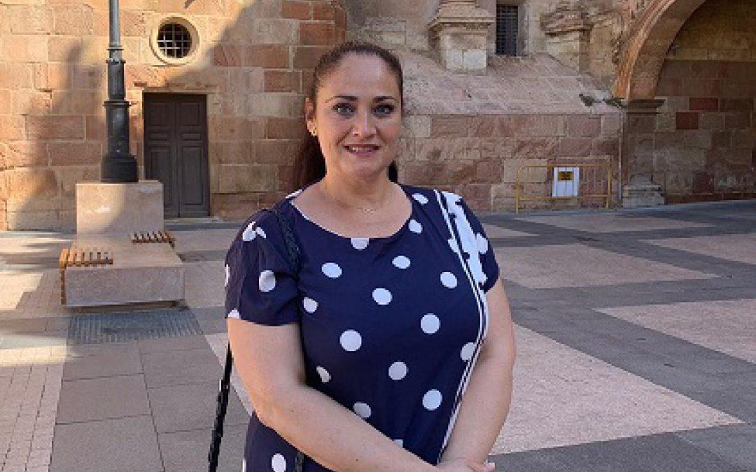 """Antonia Pérez ha pedido al PP """"que dejen ya su política partidista y que piensen en los niños y niñas de Lorca, en nuestros maestros, profesores, conserjes y, en definitiva, en toda la comunidad educativa"""""""