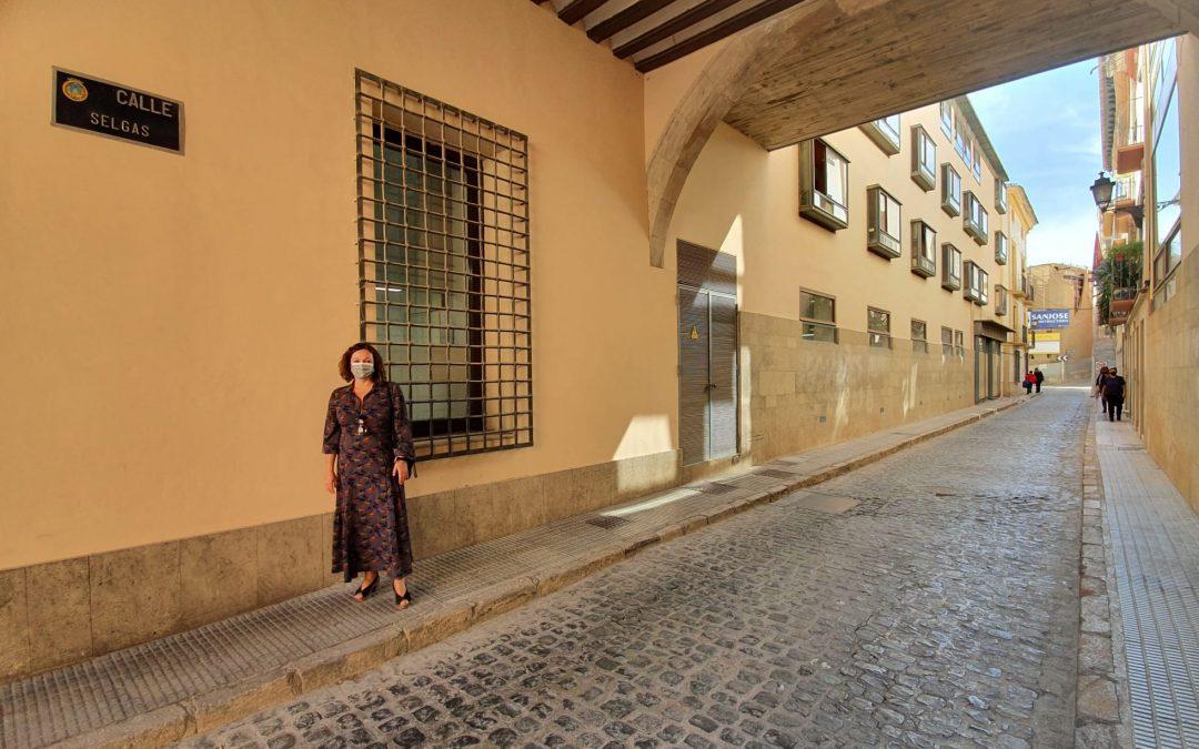 """Isabel Casalduero: """"el Partido Popular ha estado 12 años hipotecando la seguridad de todos los lorquinos y lorquinas que, a diario, transitan la calle Selgas"""""""