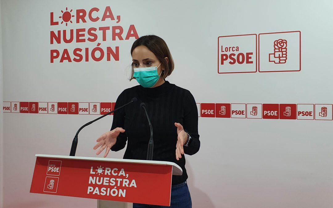 """Irene Jódar: """"no haría falta reforzar las líneas de autobús Caravaca-Lorca y Guazamara-Lorca si el Gobierno Regional del PP no las hubiera recortado con la excusa de la pandemia"""""""