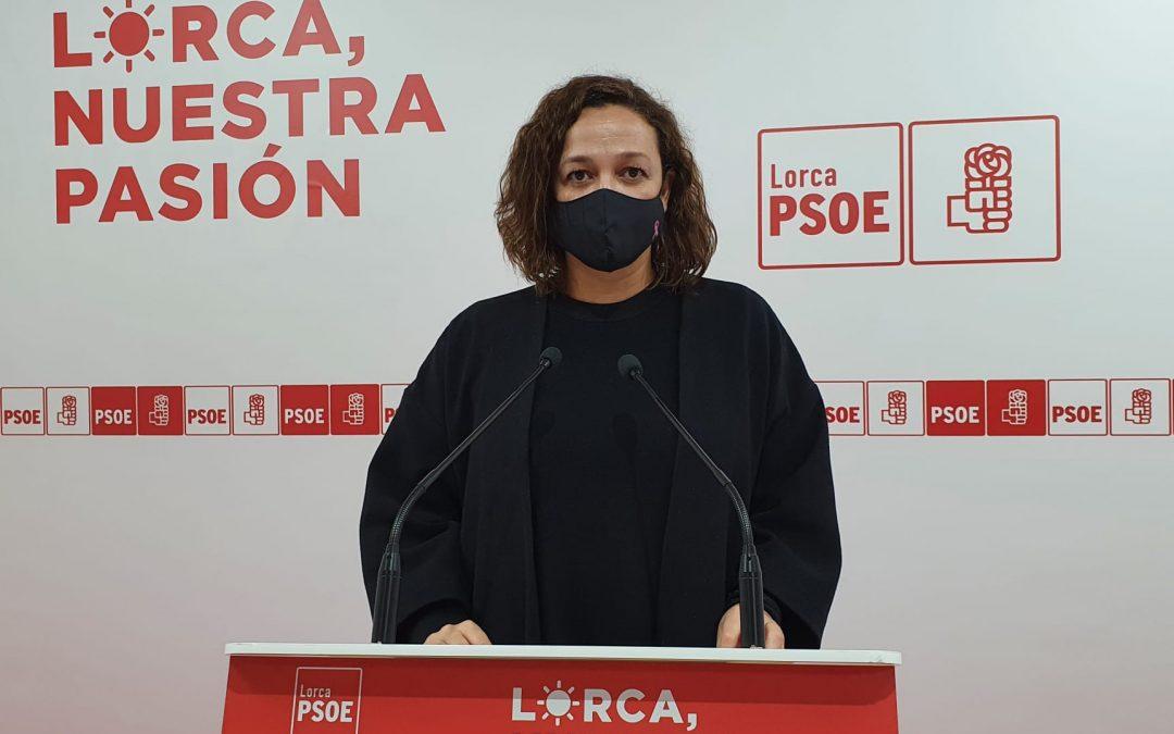"""Isabel Casalduero: """"entendemos que el señor Gil no haya salido satisfecho de la Mesa del Ferrocarril pues hemos expuesto una situación de la llegada del AVE a Lorca mucho mejor que la que prevista por su Partido Popular"""""""