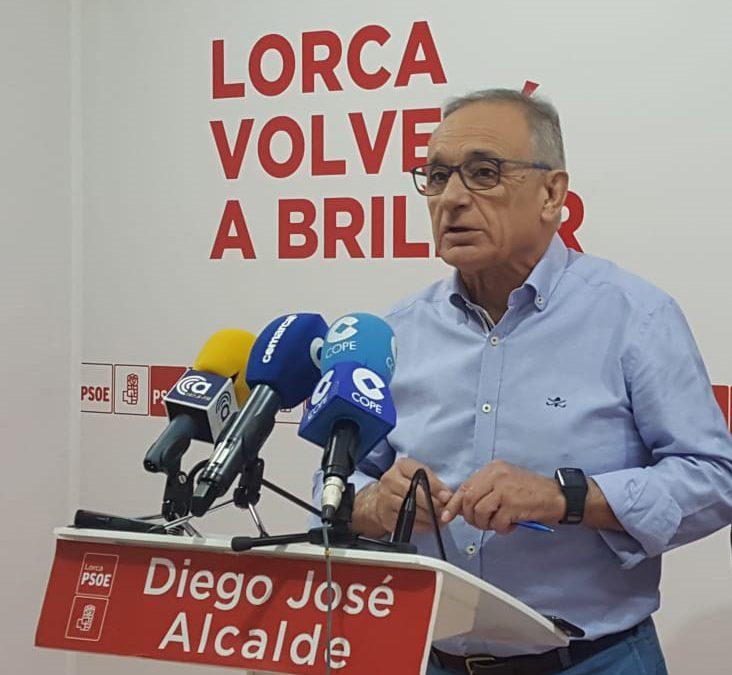 La falta de compromiso de PP e IU-Verdes con Lorca impedirá la realización de proyectos como la remodelación del Camino Viejo del Puerto, la ampliación de la Casa de las ONGs o la puesta en marcha del Plan de Vivienda Joven
