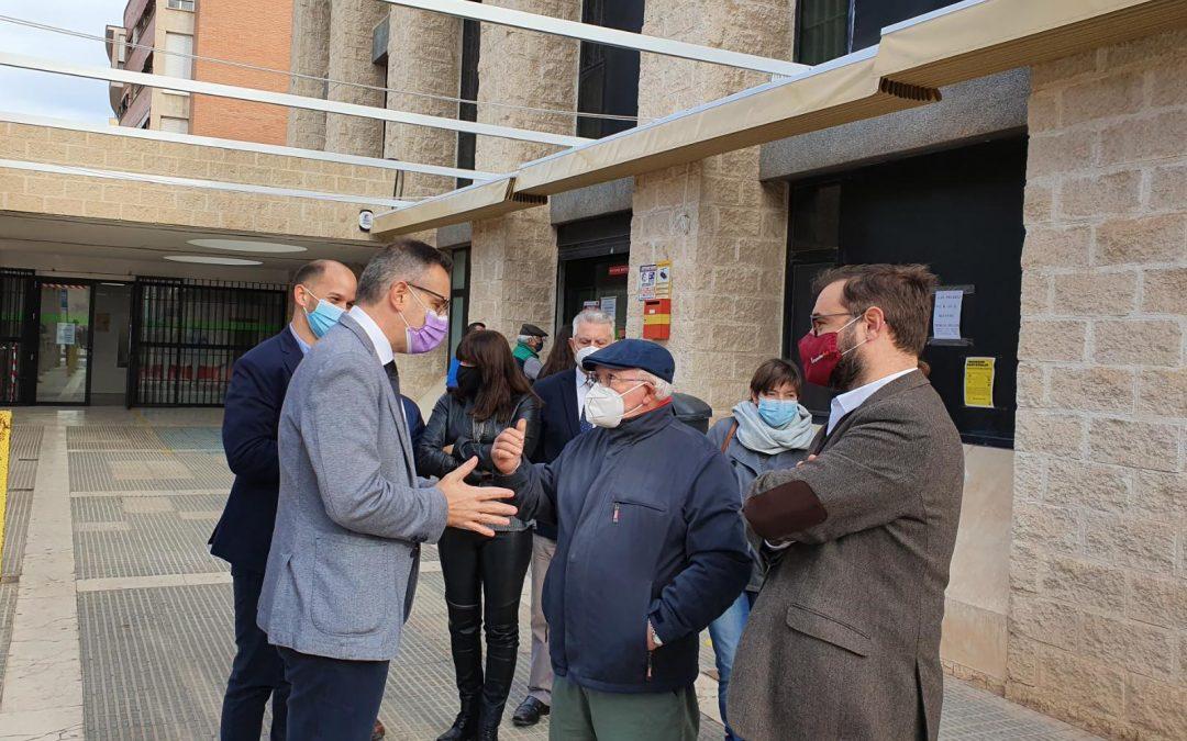 El PSOE exige a la Comunidad Autónoma que incluya la dotación para la construcción del Centro de Salud de San Cristóbal en los Presupuestos Regionales de 2021