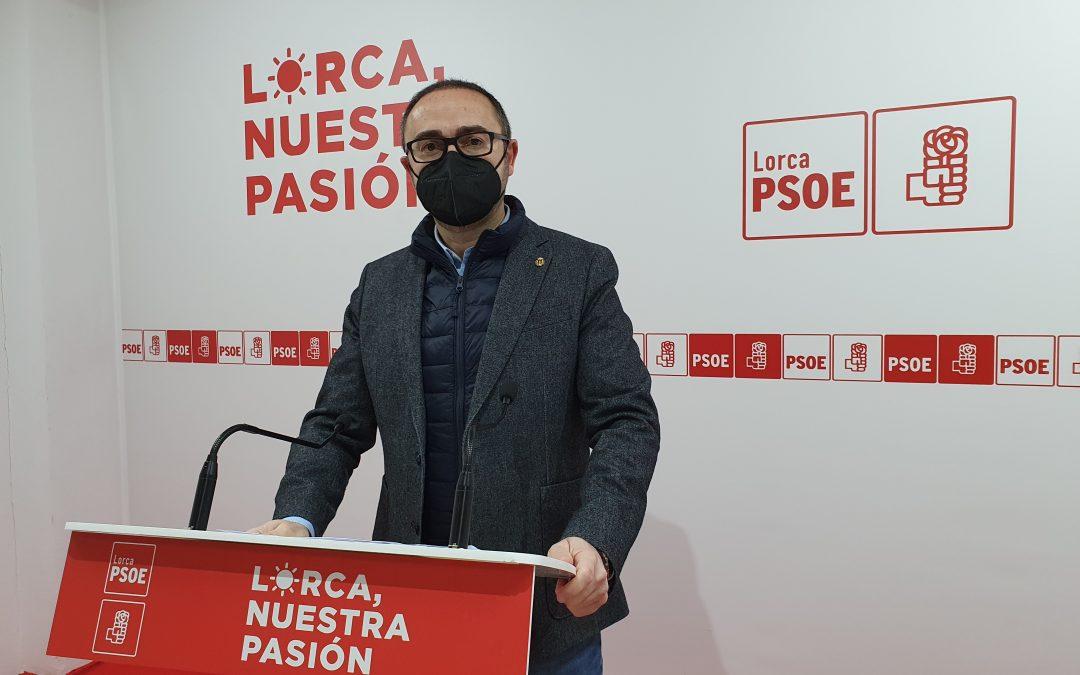 """Isidro Abellán: """"el Coso de Sutullena es un ejemplo más de los proyectos 'chapuza' heredados del PP de Lorca"""""""