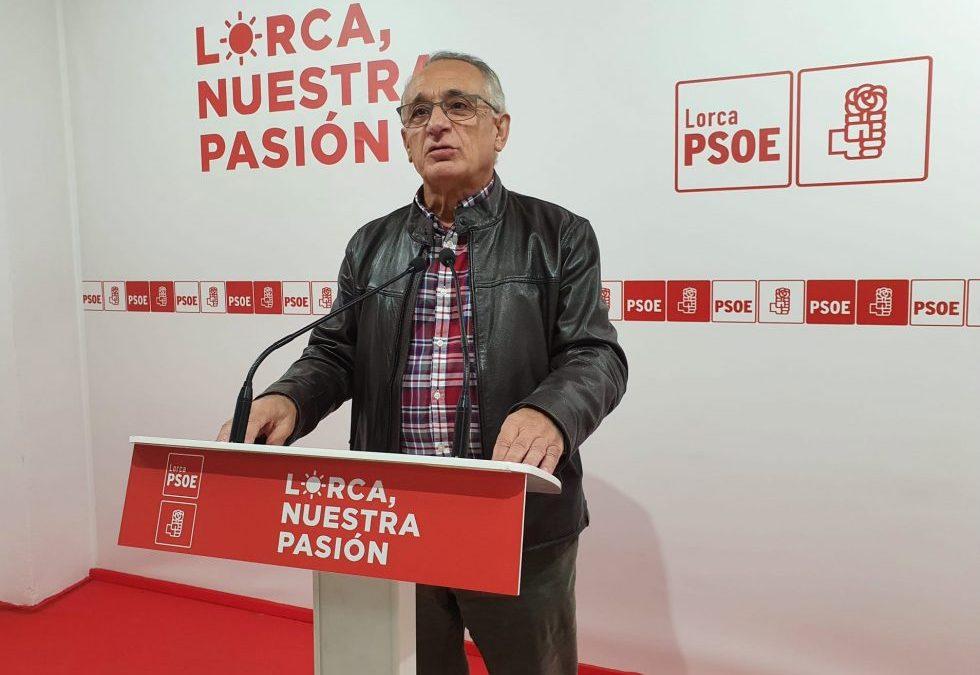 """Herencia: """"En su estrategia a la desesperada, el PP de Lorca olvida también la debida lealtad institucional"""""""