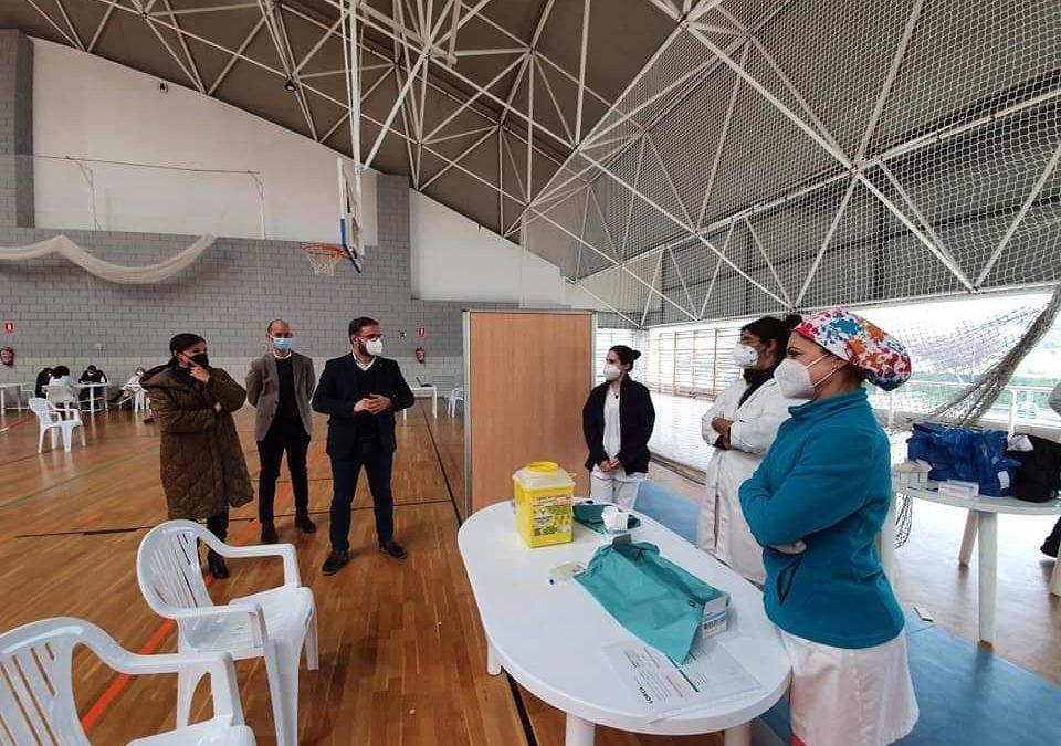 El Alcalde destaca el avance de la vacunación en Lorca y reconoce la gran labor del personal municipal y del área III de salud para la organización de las jornadas de vacunación