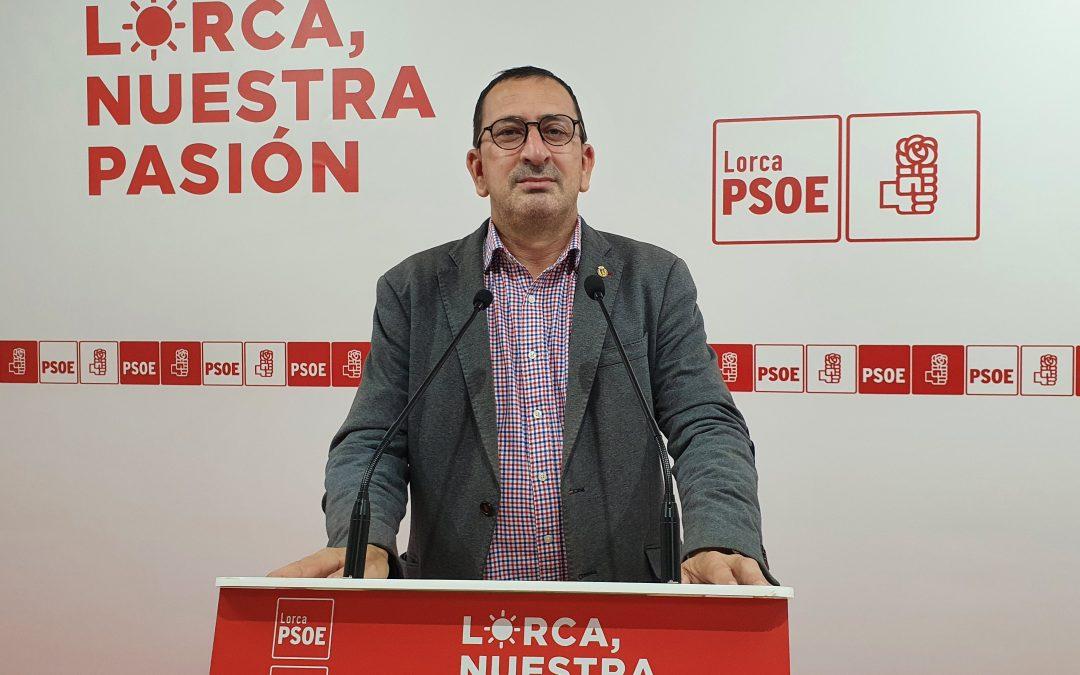 El PSOE lamenta que la seguridad de los agentes de Policía Local de Lorca no preocupe lo más mínimo a un PP que lo único que hace es mentir a los lorquinos y lorquinas