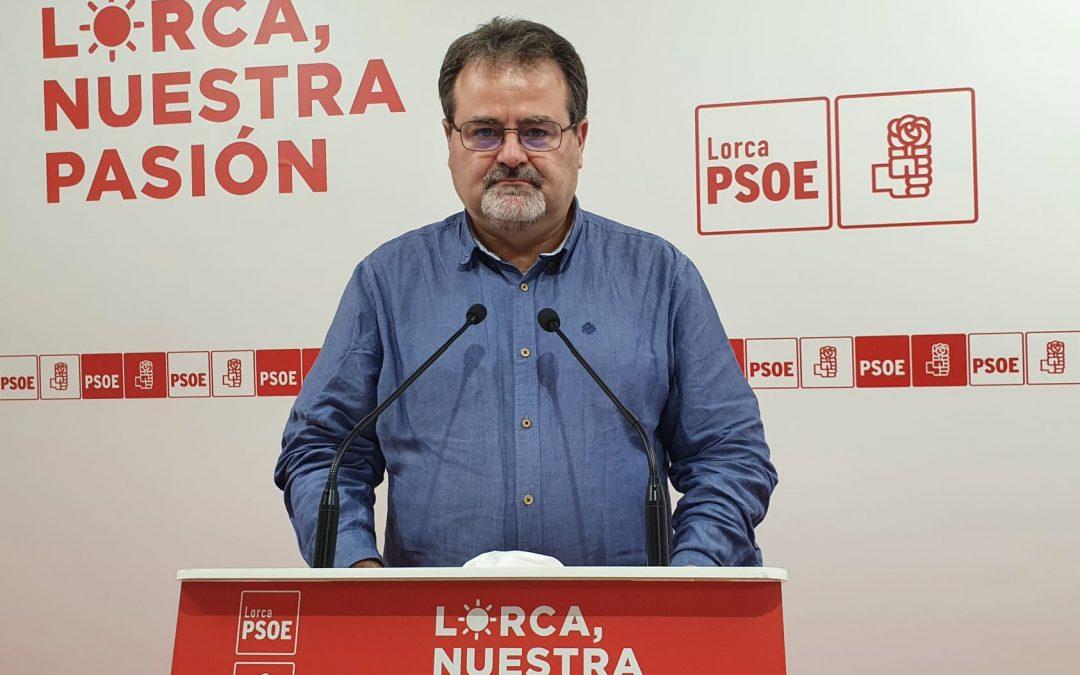 El PSOE sí hace su trabajo y fecha en agosto el inicio de la limpieza de cauces y ramblas en el municipio de Lorca ante posibles episodios de lluvias